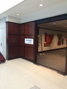 United Club Newark Enterance