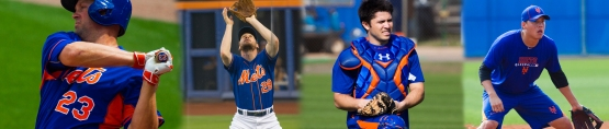 Mets defensive collage