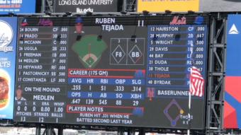 2012 scoreboard