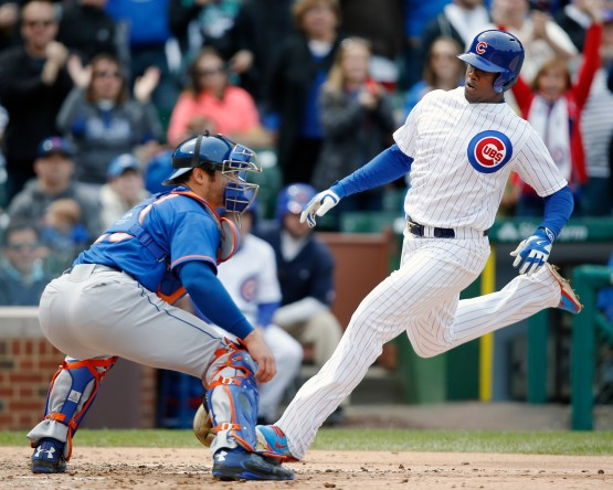 Jorge Soler, Anthony Recker