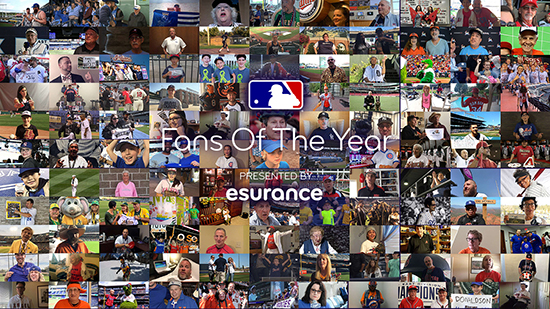 MLB Fans of the Year presented by Esurance